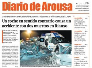 PORTADA-ACCIDENTE-MORTAL-AUTOVIA-RIANXO