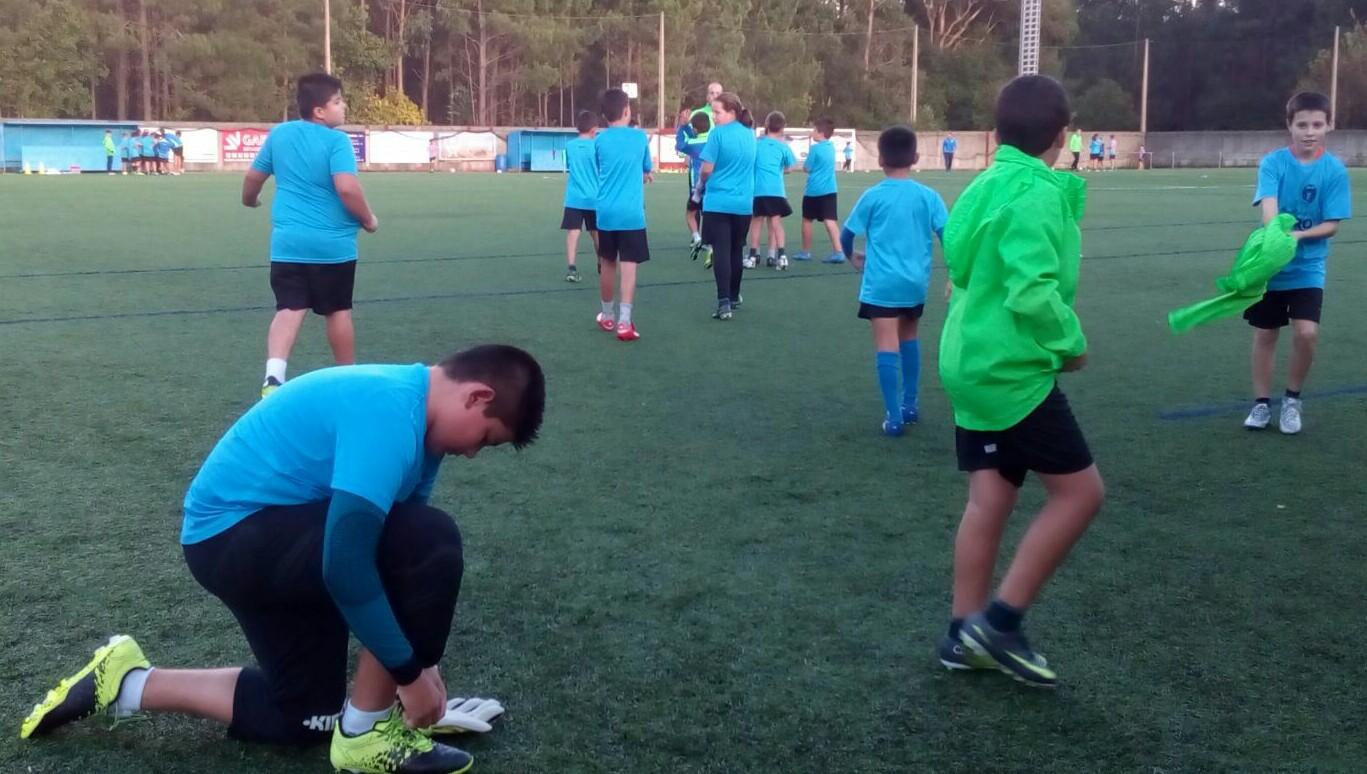 BOIRO – La Escola de Fútbol Municipal de Boiro reanuda ...